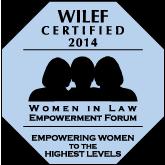 WILEF gold standard logo