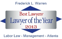 Lawyer of the Year 2013 Badge